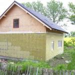 Nízkoenergetická dřevostavba - Českolipsko