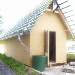 Základová deska a zahradní domek