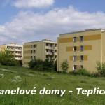Panelové domy Teplice