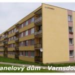 Panelový dům Varnsdorf