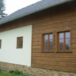 Nízkoenergetická dřevostavba - Nový Bor