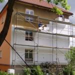 Zateplení bytového domu - Nový Bor
